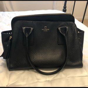 Black leather Kate Spade purse!